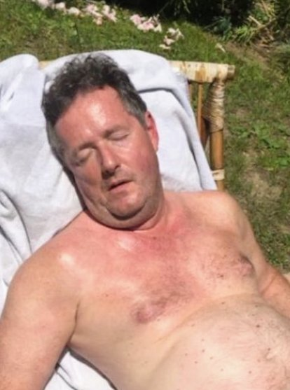 @Lord_Sugar @piersmorgan Piers here wearing his favourite cologne. Rejection by Megan