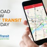 Image for the Tweet beginning: The Valley Transit app is