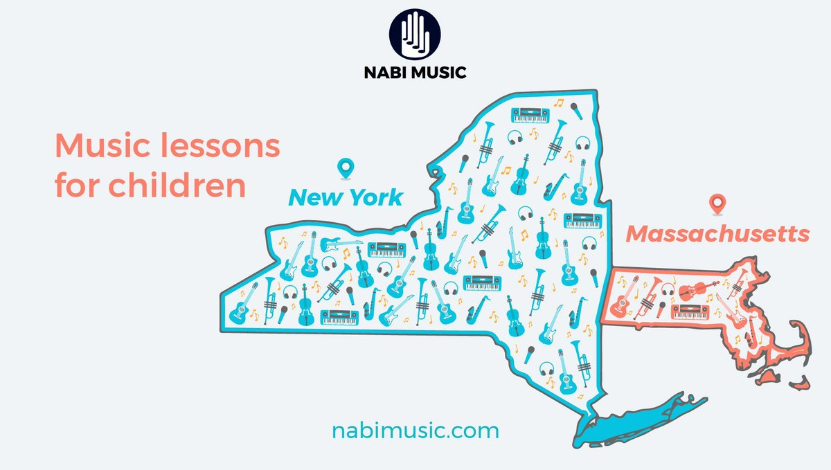 Learn piano, guitar, voice, violin, saxophone, cello, drums, and more ⠀  Sign up for a FREE lesson at https://buff.ly/30eZIdl  #nabimusic #musiclessons #parents #moms #musiclessonsforkids #musicprogram #piano #guitar #newyork #boston #massachusettspic.twitter.com/W3qk4J5ruI