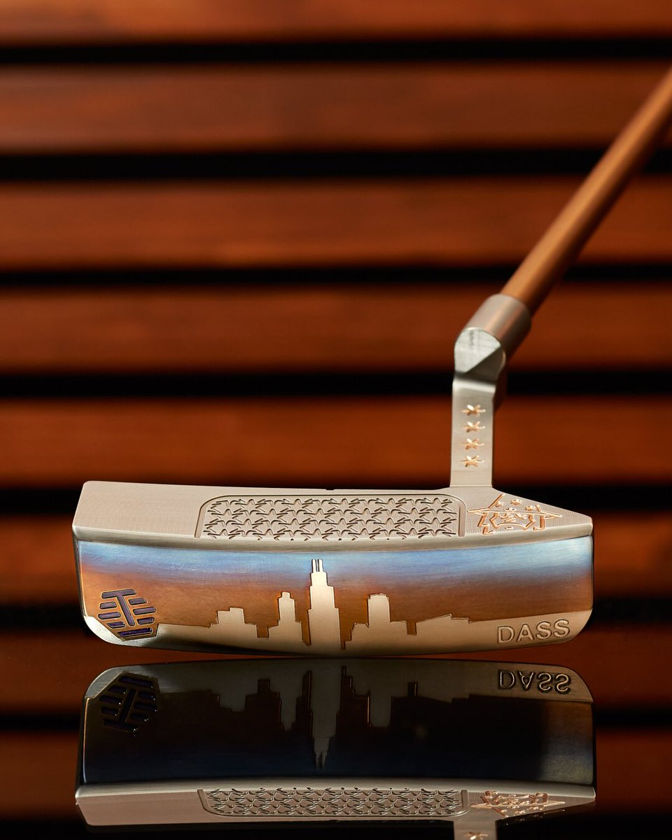 #PutterofTheWeek RJB's remarkable DASS 3 Step Jam with our hometown roots proudly engraved, blasted, and hand-torched across the sole. #Bettinardi #MadeinChicago #customputter #dassgood #3stepjam #golfwrx #golf #putters #pgatour #Hive #pgashow2020pic.twitter.com/zfFcxCRkB8