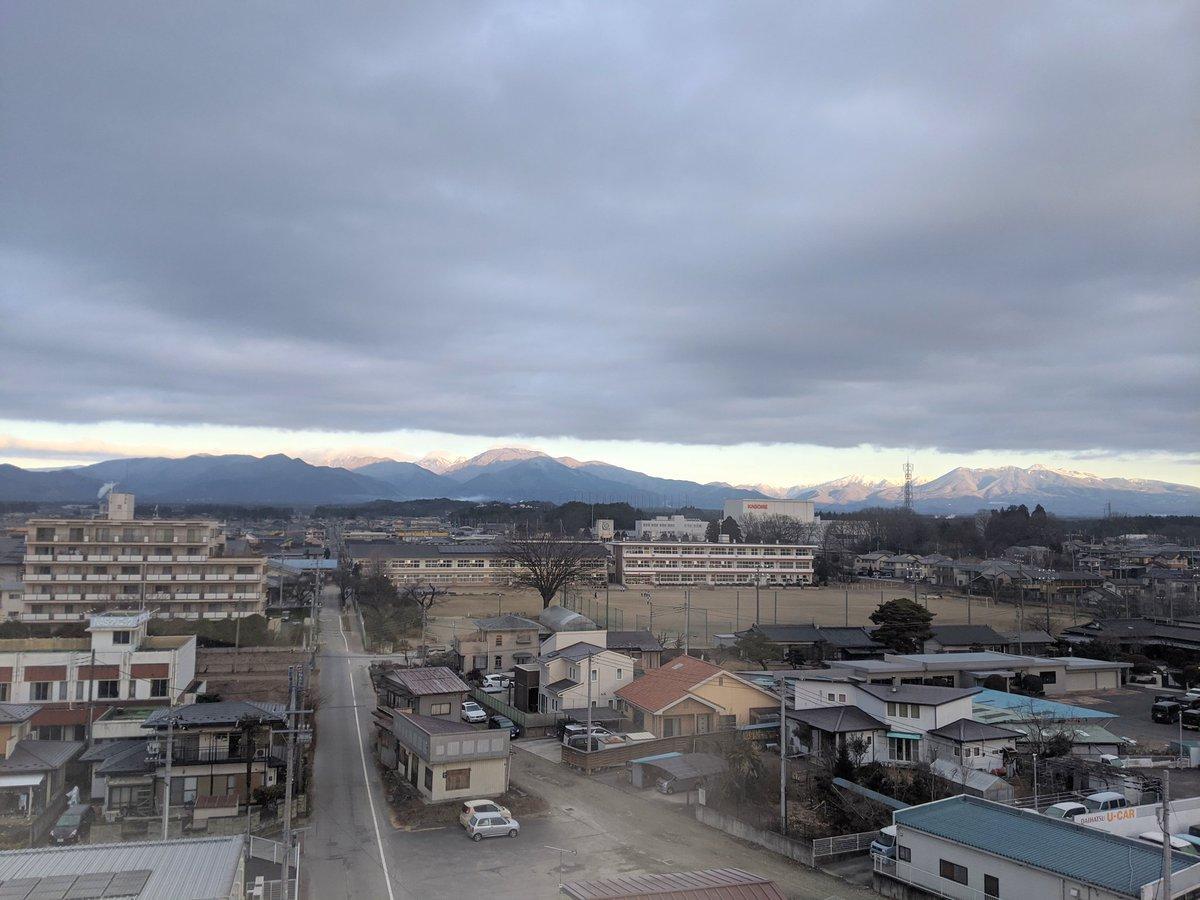 親類の葬儀で栃木に来てたよ。初めてきたけど結構寒いね。#イマソラ#那須塩原