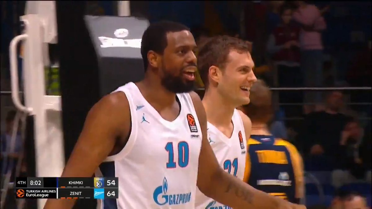 20 pts   8 reb Will Thomas only missed ONE shot in an all round display for @zenitbasket #GameON
