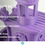 Image for the Tweet beginning: PolyLite™ PLA is a high-quality
