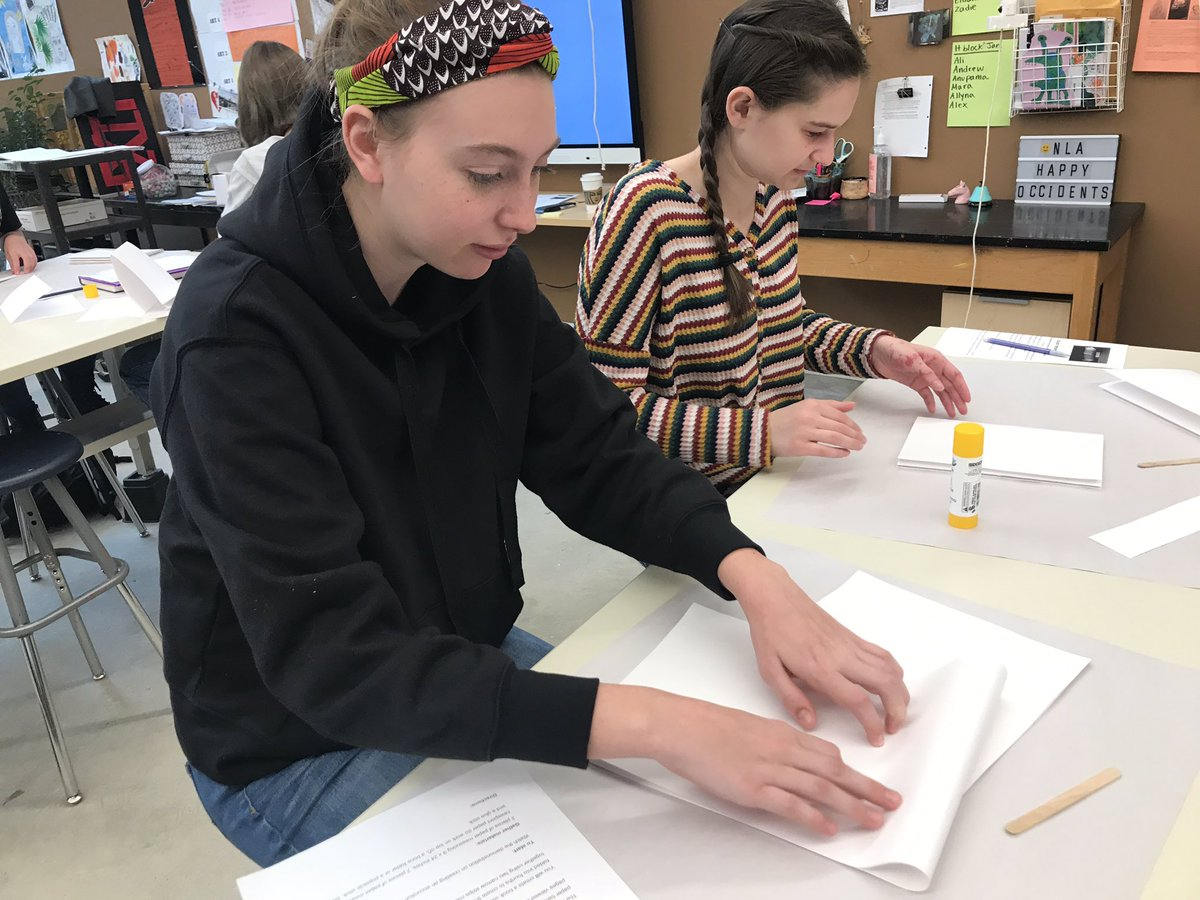 Art 1 is making accordion book <a target='_blank' href='http://twitter.com/HBWProgram'>@HBWProgram</a> <a target='_blank' href='http://twitter.com/APSArts'>@APSArts</a> for their study of color theory <a target='_blank' href='http://search.twitter.com/search?q=loveHB'><a target='_blank' href='https://twitter.com/hashtag/loveHB?src=hash'>#loveHB</a></a>  <a target='_blank' href='http://search.twitter.com/search?q=ColorTheory'><a target='_blank' href='https://twitter.com/hashtag/ColorTheory?src=hash'>#ColorTheory</a></a> <a target='_blank' href='http://search.twitter.com/search?q=color'><a target='_blank' href='https://twitter.com/hashtag/color?src=hash'>#color</a></a>  <a target='_blank' href='http://search.twitter.com/search?q=Bookmaking'><a target='_blank' href='https://twitter.com/hashtag/Bookmaking?src=hash'>#Bookmaking</a></a> <a target='_blank' href='http://search.twitter.com/search?q=ArtFoundations'><a target='_blank' href='https://twitter.com/hashtag/ArtFoundations?src=hash'>#ArtFoundations</a></a> <a target='_blank' href='http://search.twitter.com/search?q=Foundations'><a target='_blank' href='https://twitter.com/hashtag/Foundations?src=hash'>#Foundations</a></a> <a target='_blank' href='https://t.co/k8zyBO8BFO'>https://t.co/k8zyBO8BFO</a>