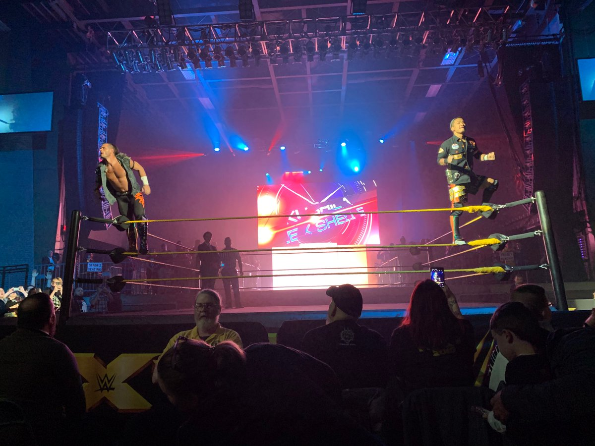 Alex Shelley Makes WWE NXT In-Ring Debut At Tonight's Live Event In Pittsburgh (Photos, Videos)