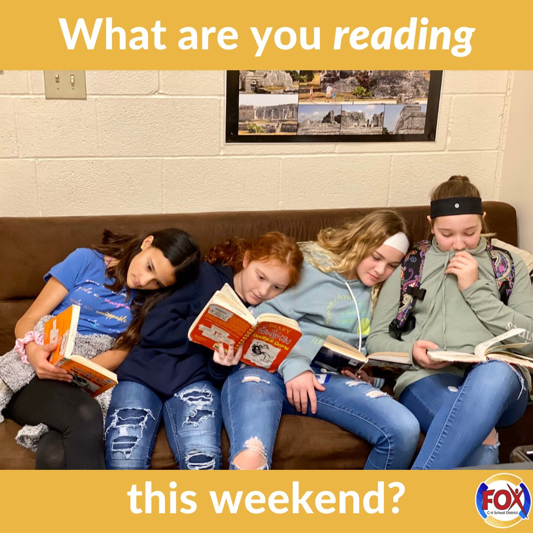 What are you reading this weekend, #FoxC6Strong community?