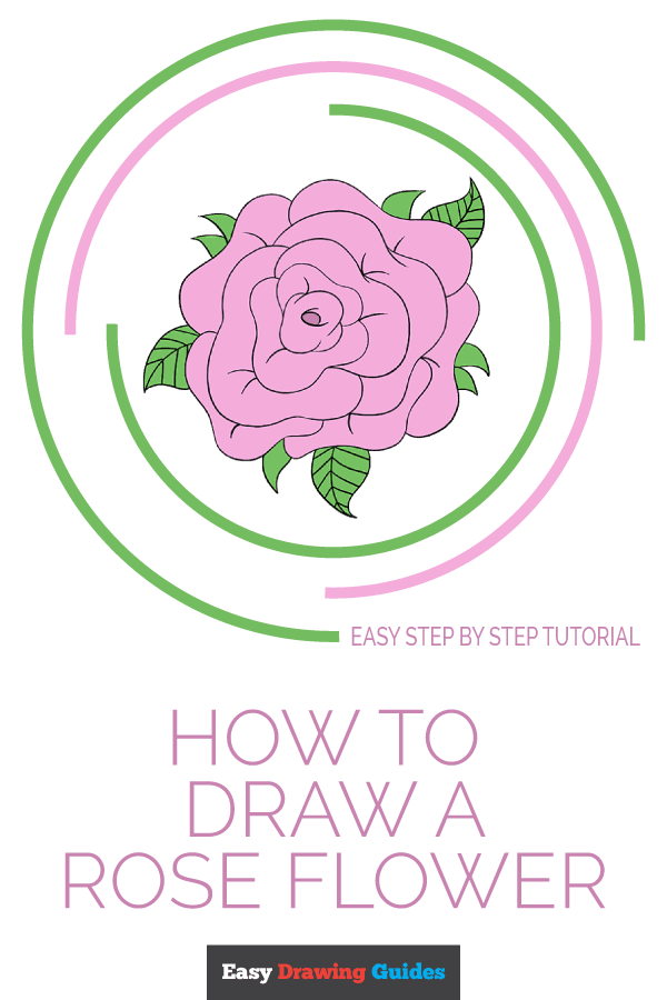 easy drawing guides on twitter learn how to draw a rose flower easy step by step drawing tutorial for kids and beginners rose flower valentinesday easydrawing see the full tutorial at https t co pgzap3eiko https t co chfqx5m08n
