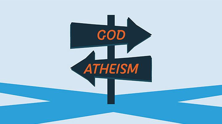 Image for the Tweet beginning: Belief in God, according to