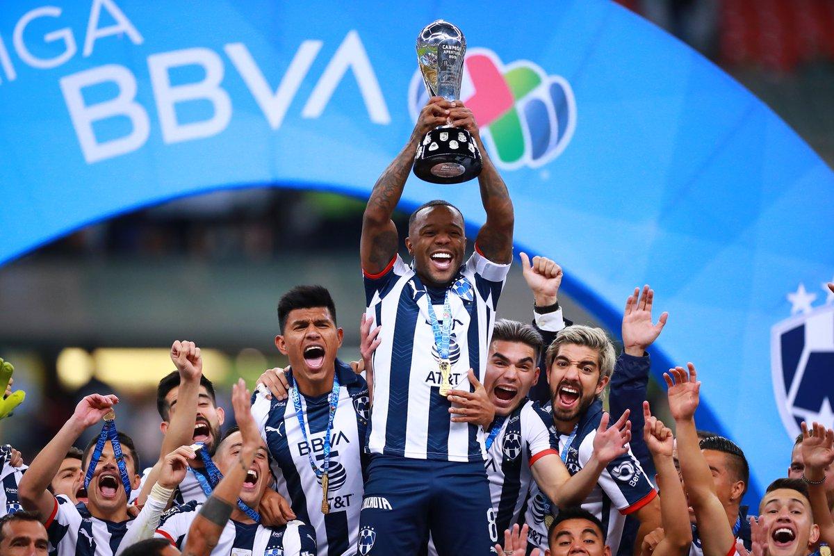 ¡Un diciembre inolvidable para @Rayados! 😮🔝👏  🔹 Tercer lugar en el 🇶🇦#ClubWC 🥉 🔹 Campeones de la 🇲🇽@LigaBBVAMX 🥇🏆  🎉 ¡Muchas felicidades por su 5️⃣ título!  🎉