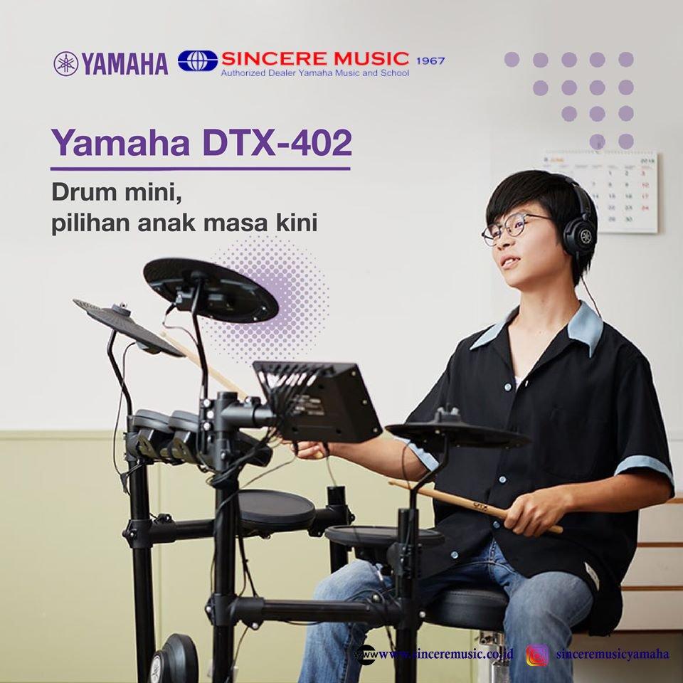 Bermain drum lebih asik dengan Yamaha DTX-402 Simpel yg powerfull  Info lebih lanjut : http://www.sinceremusic.co.id telp :0878-0815-7979 (Rances) http://wa.me/0878-0815-7979  #alatmusikyamaha #alatmusikanak #alatmusikmania #alatmusikindonesia #alatmusik #alatmusiktiup #alatmusikpukulpic.twitter.com/pBjEyCJJyj