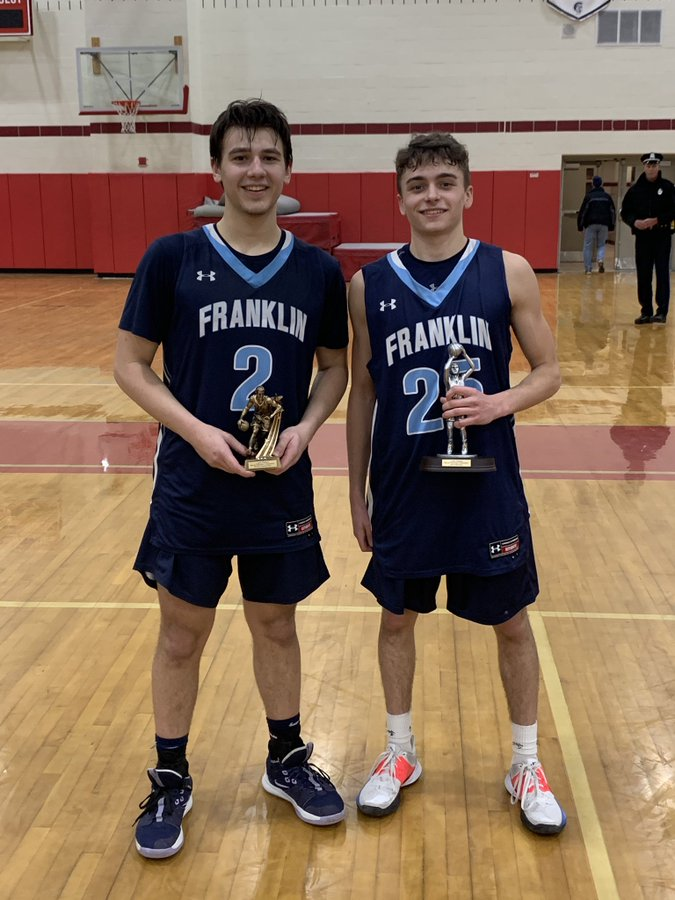 Congratulations to Brayden Sullivan for making the  All Tournament Team and Steve Karayan on being named Tournament MVP!