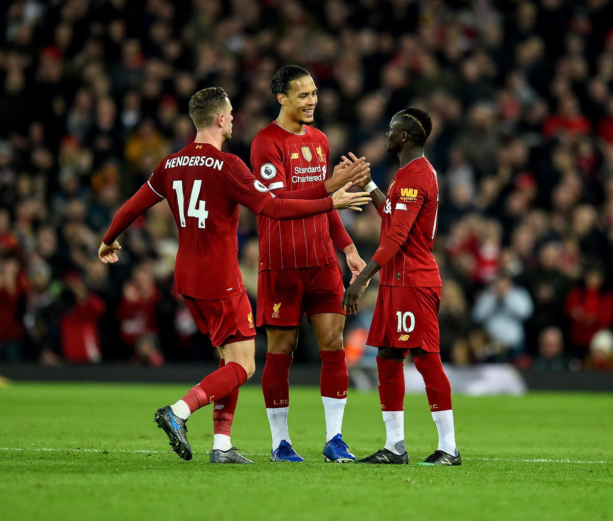Nice to finish 2019 with a big win! Proud to reach 100 @LFC appearances for this great club #YNWA 💫