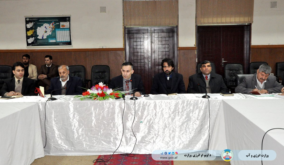 The program of arranging investment plans for water development projects was held in the Ministry of Energy and Water. Click the link for more info https://www.facebook.com/MEW.AF/posts/2616681235115907…
