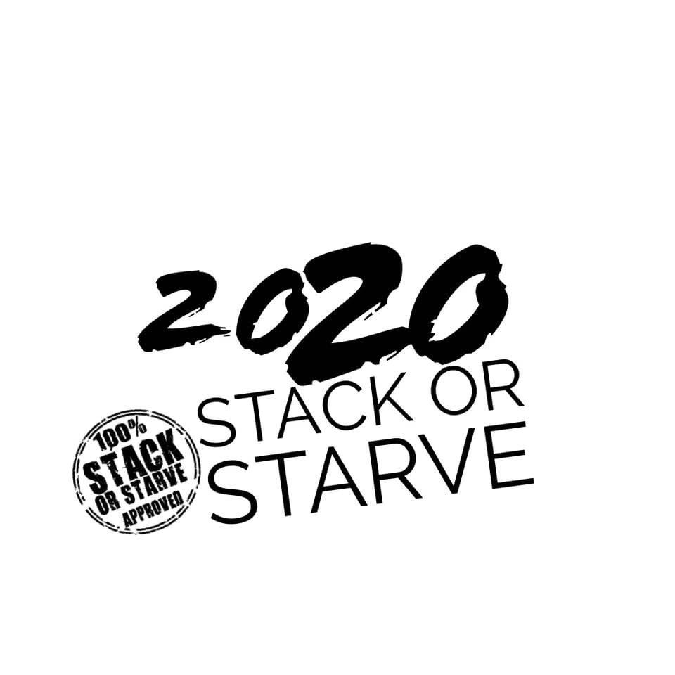 2020 ‼️ 🆘 4️⃣ LIFE ‼️ #StackOrStarve #StackOrStarveApproved #StackOrStarve2020
