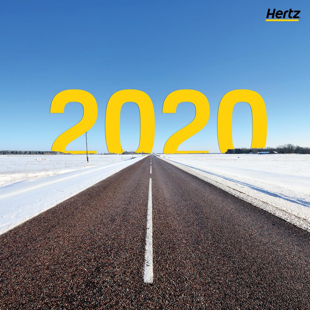 Bald haben wir das nächste #Jahrzehnt erreicht. ⭐️ #Hertz wünscht einen guten Übergang ins neue Jahr #2020. 🎆 https://t.co/18bcg7WP2n