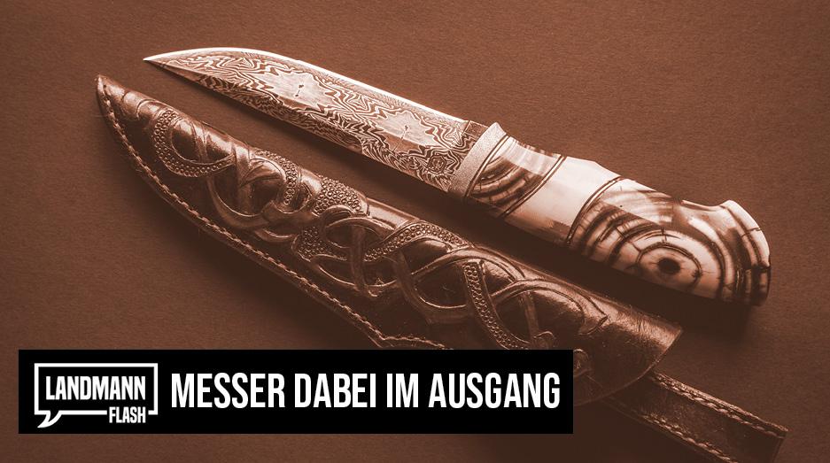 Valentin Landmann über das Messer dabei im Ausgang  @V_Landmann   https://t.co/WzdEIid6ys     #LandmannFlash #ValentinLandmann #Politik #Schweiz https://t.co/Vf1BdVdGPJ