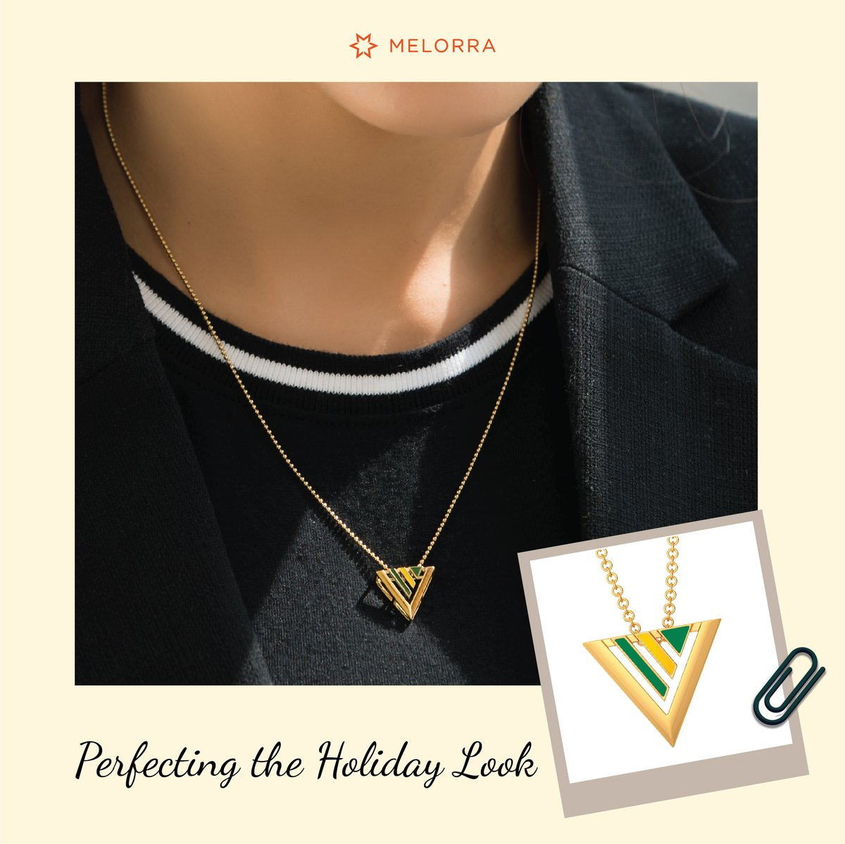 Style your Holiday look with Melorra! 😎  Get stylish here >   ✔️ 7000+ Lightweight Jewellery Designs ✔️ Easy 30-Day Returns ✔️ 100% Certified Jewellery  #Melorra #EverydayFineJewellery #TrendInspired #AffordableGold #HolidayLook