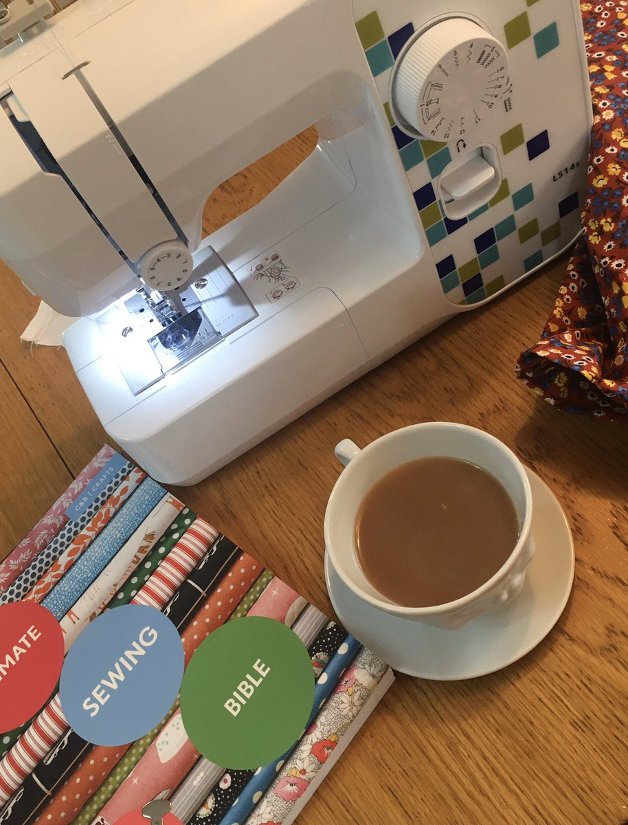 My new hobby is in full swing today! Excited! #sewing #sewingmachine #metime #newhobby #relaxing #homelifebalance #newproject #dressmakingpic.twitter.com/rtAySfG8KX