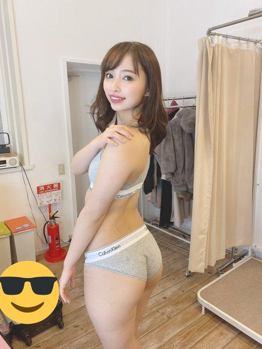 グラビアアイドル鶴巻星奈のTwitter自撮りエロ画像46