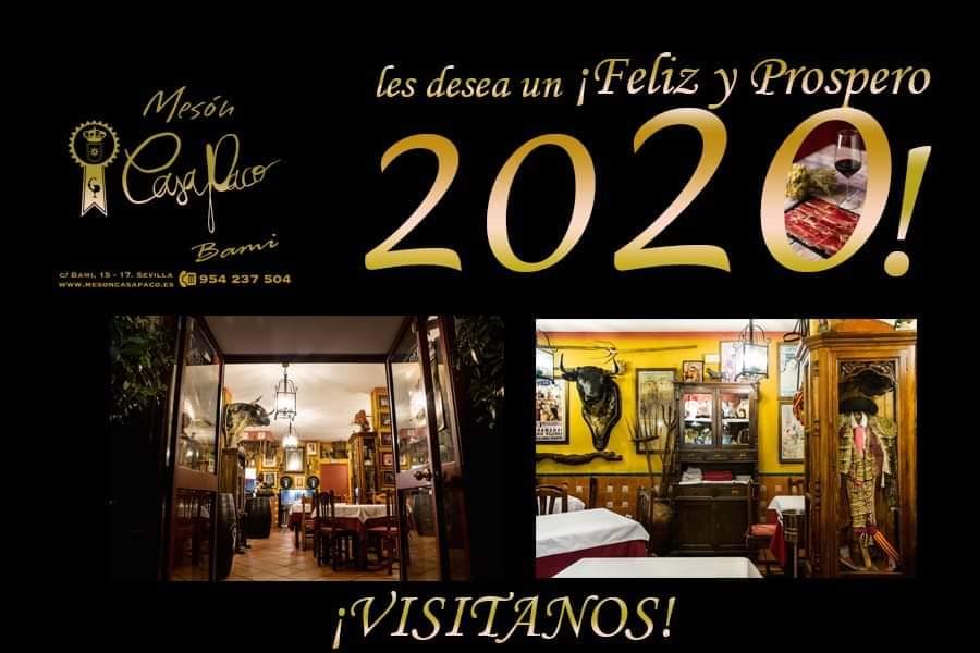 Te esperamos para disfrutar juntos de los últimos días del año  * *  Consultas y Reservas  954 23 75 04 http://www.mesoncasapaco.es * * #MesonCasaPaco #CalleBami15 #Sevilla #Andalucia #Gastronomia #Tradicion #Innovacion #Restaurante #detapasporsevilla #Gastropic.twitter.com/KKWN5e5EbS