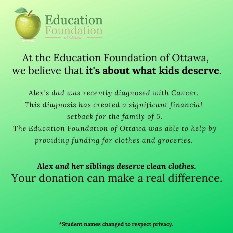 #YearEndGiving Real Stories. Real Impact. Please donate today. secure.qgiv.com/for/efoo/ @OCDSB