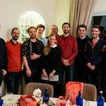 Image for the Tweet beginning: Weihnachtsfeier 2019