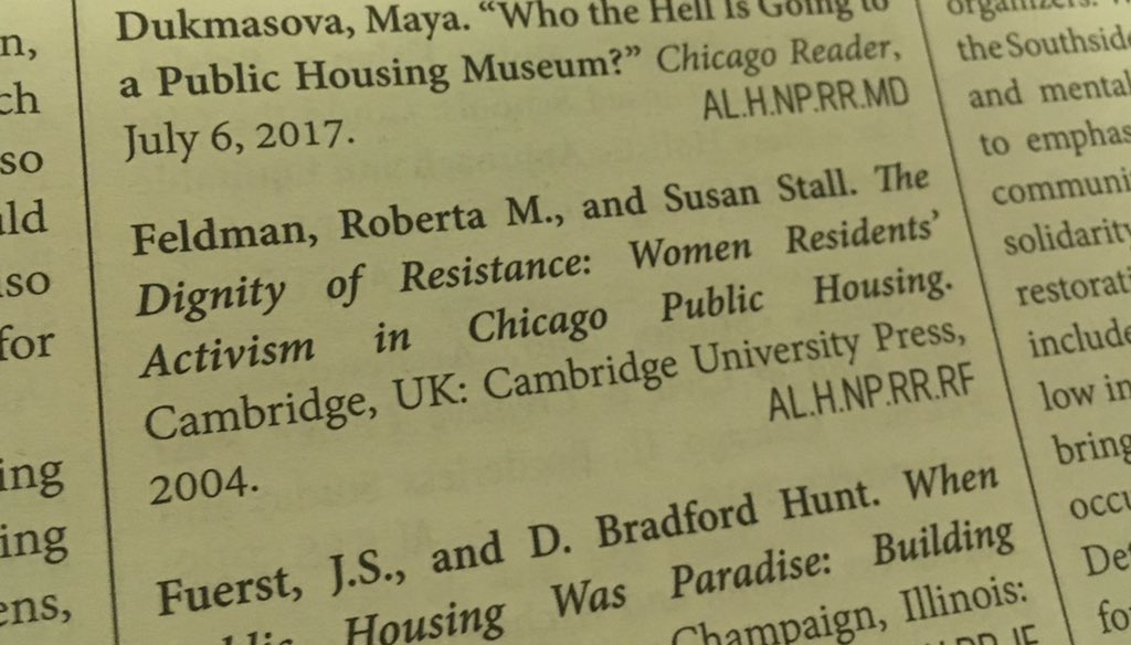 """Reading about the @the_nphm and the history of public housing @chicagobiennial — and noting its feminist intersections #andotherstories   """"The history of public housing is as much about the history of housing as it is about the history of the public.""""  #feminist #spatialpoliticspic.twitter.com/9Svh2mH3y3"""