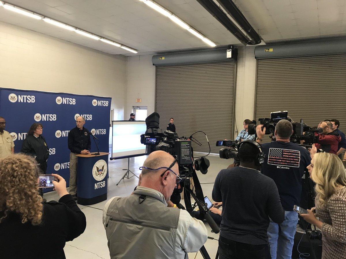 Another press conference by @NTSB_Newsroom about to begin on the Lafayette plane crash.