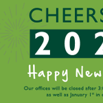 Image for the Tweet beginning: Wishing everyone a Happy New