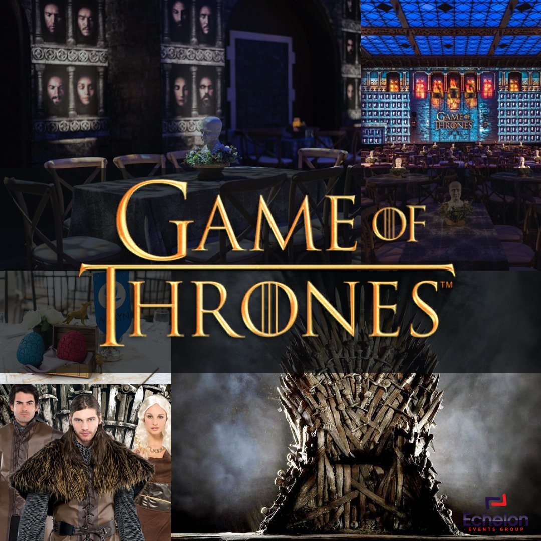 Echelon Events New Theme of the Week:  Game of Thrones #eventplanner  #events #event #eventplanning #corporateeventplanner  #meetingplanner #meetings #love #eventdesign  #eventmanagement #corporateevents #decor  #eventthemes #eventconcepts #eventdecor #gameofthrones #gotpic.twitter.com/JmONFg7HOW