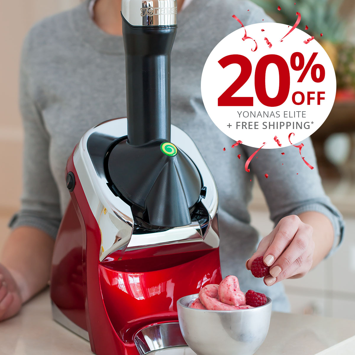 Start your healthy new decade with Dessert! Create guilt-free dessert using fruit with Yonanas Elite. Save 20% now with code YO2020: https://t.co/UzGYdVlCaP https://t.co/hl8m4ugVFx