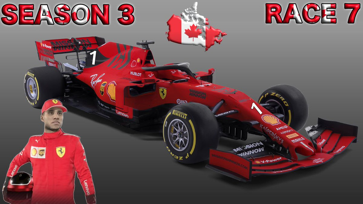 #F12019CareerMode #CanadianGrandPrix #FerrariF1 #Season3 #Race7 #Round7 #Episode7 #F12019 #Vettel #Hamilton #Verstappen #CareerMode #CanadianGP #Qualifying #Livestream #Commentary #PS4 #RoadTo700Subs #F12019Gameplay #YouTube #Subscribe Watch Live: https://youtu.be/Y-b_o0dspCs pic.twitter.com/ZxbiYv4ARA