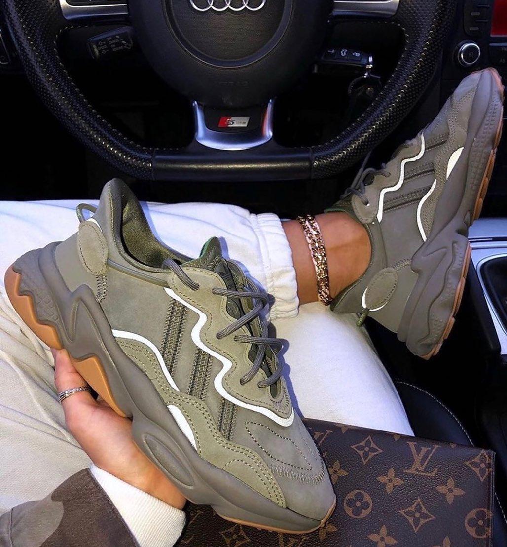 adidas ozweego kaki