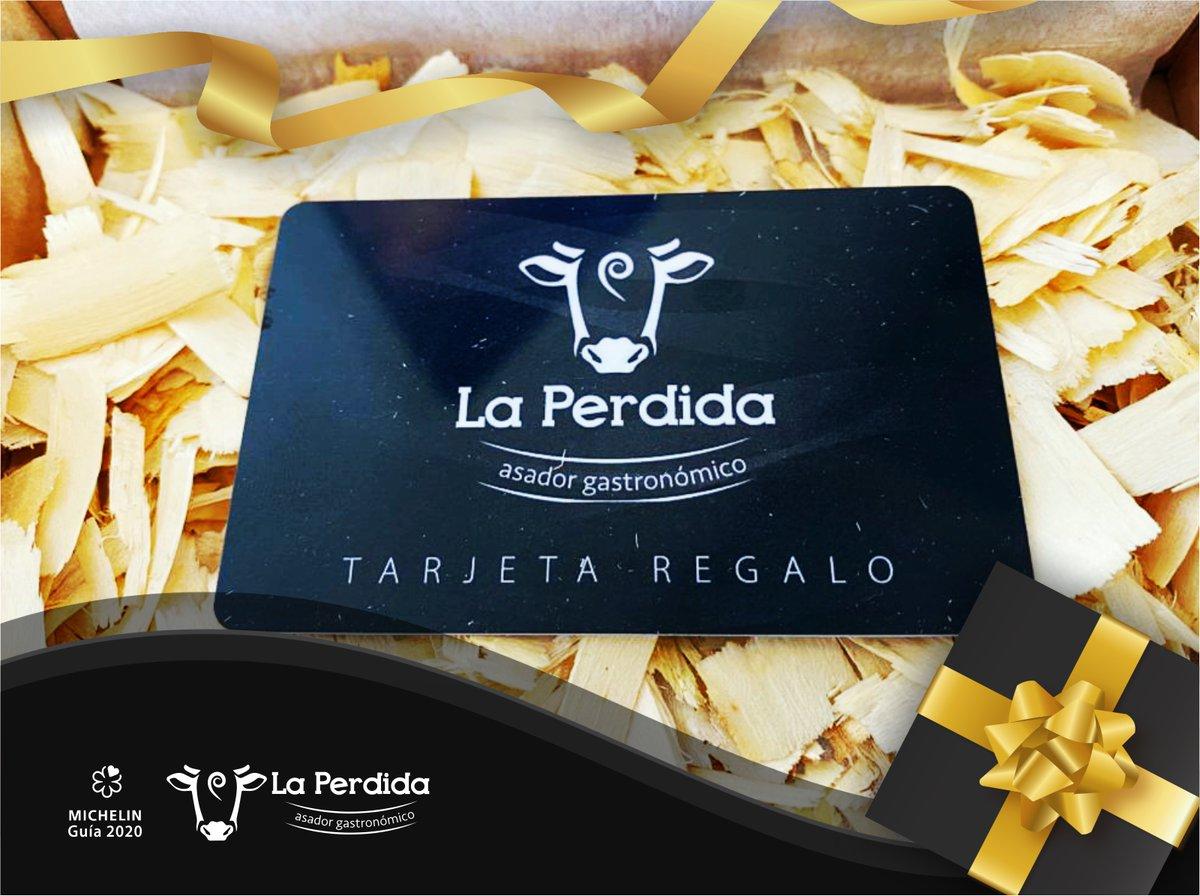 Quieres #regalar algo distinto este año?? Sorprende a esa persona tan especial con algo verdaderamente #especial...💝  Regala #experiencias en #LaPerdida!!  Además, puedes configurar cada tarjeta #atumedida, elegir un menú o definir un importe.