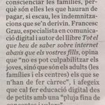 Image for the Tweet beginning: Avui hem parlat, al @diariARA