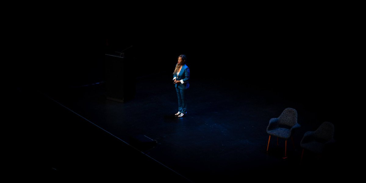 I was able to narrow down 2019 to one photo; me speaking at @clarity_conf. Thank you to @danmall for capturing this moment. At the time, I had no idea how within days my entire life would change. My only focus here was to tell a story.