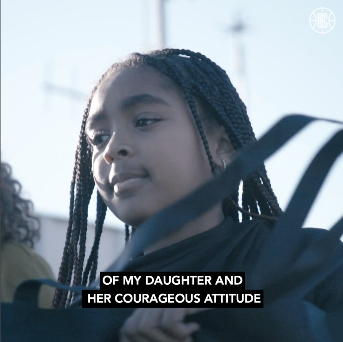"""""""This is Jada's drive. I'm just here to support my daughter and her courageous attitude.""""  @TeamLou23's daughter texted her dad that she wanted to give back, so they made it happen. #SeasonOfGiving"""