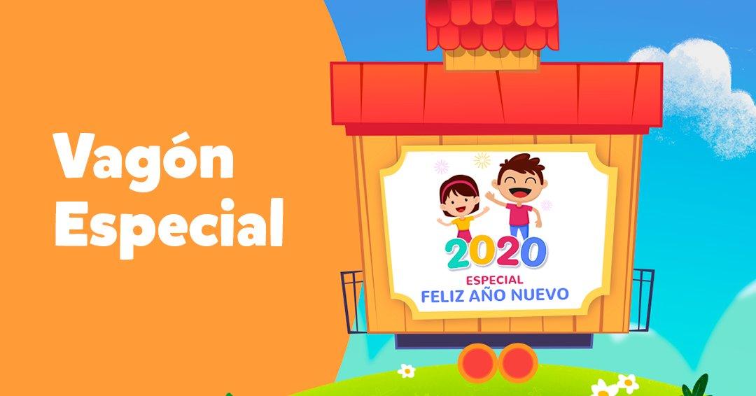¡Hemos preparado un vagón especial para que celebres la llegada de 2020 junto con tu pequeño!   🎉💜  Si aún no tiene #PlayKidsApp, descargue aquí https://t.co/6WGe0n0rEt y celebre con nosotros. https://t.co/71XKBst7ex