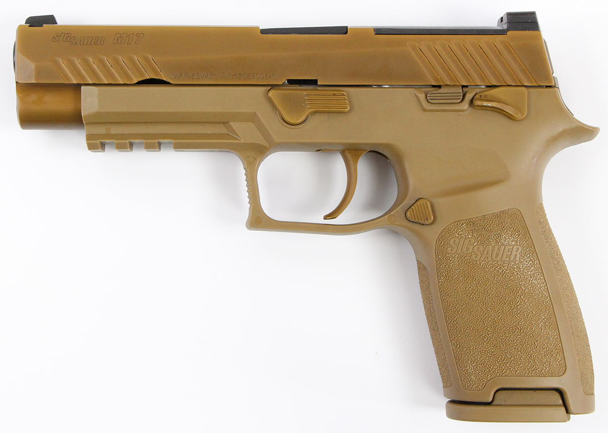 This is why the army selected sig over glock for its new handgun