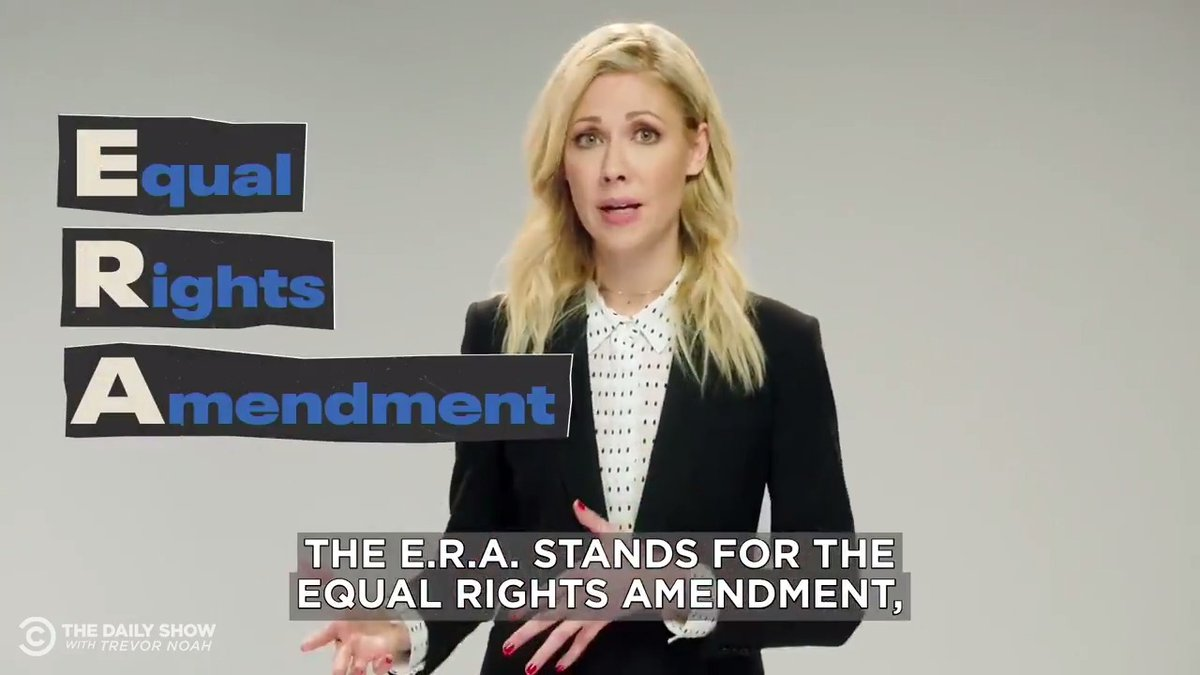 @TheDailyShow's photo on Equal Rights Amendment