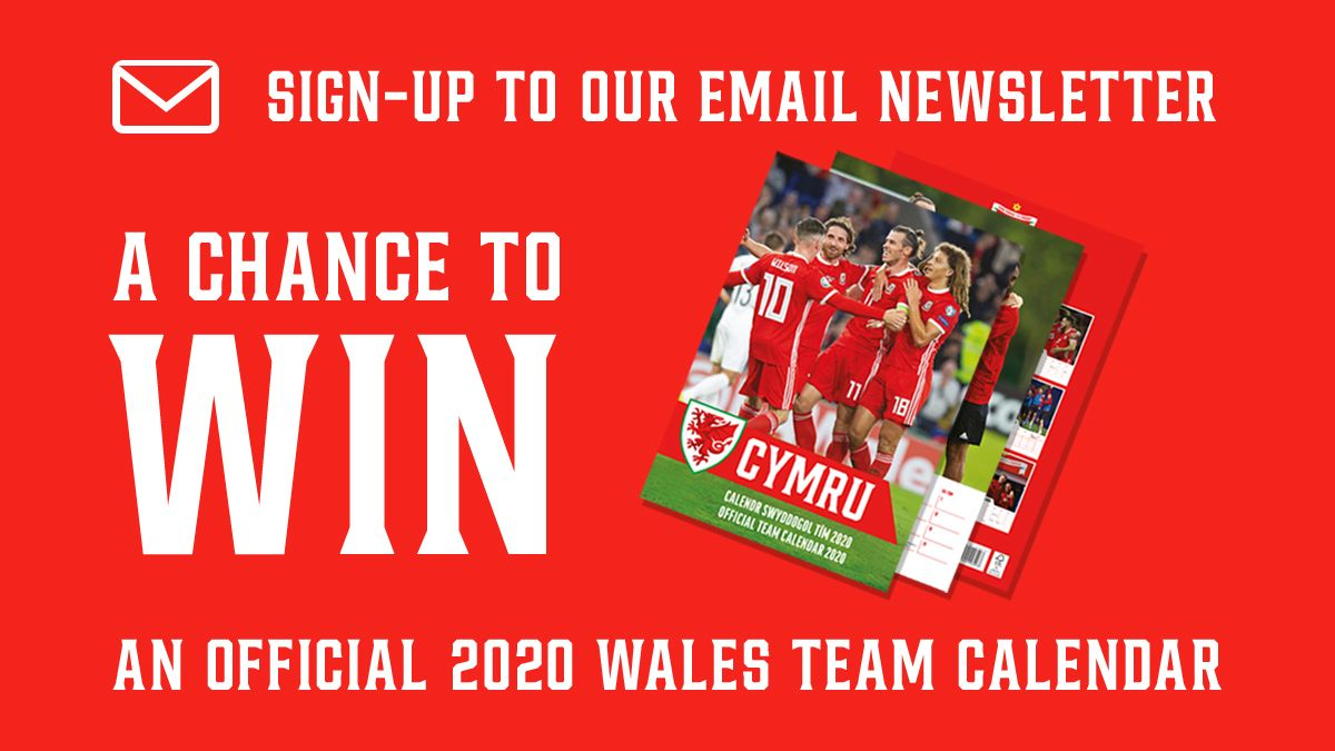 Enillwch calendr @Cymru! 😍 Tomorrow is your last chance to win an official calendar! Sign up to our email newsletter to be in with a chance 👇 Pob lwc 🤞 bit.ly/FAWNewsletter