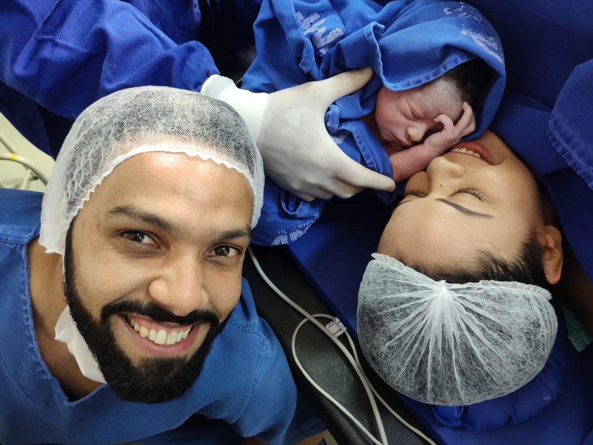 @Miltonneves O nascimento do primeiro Netinho da família  ... #meusobrinho 🙌