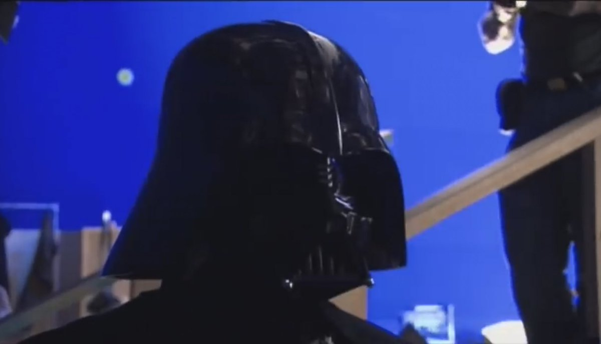 Star Wars Holocron On Twitter Hayden Christensen In The Darth Vader Suit On The Set Of Revenge Of The Sith
