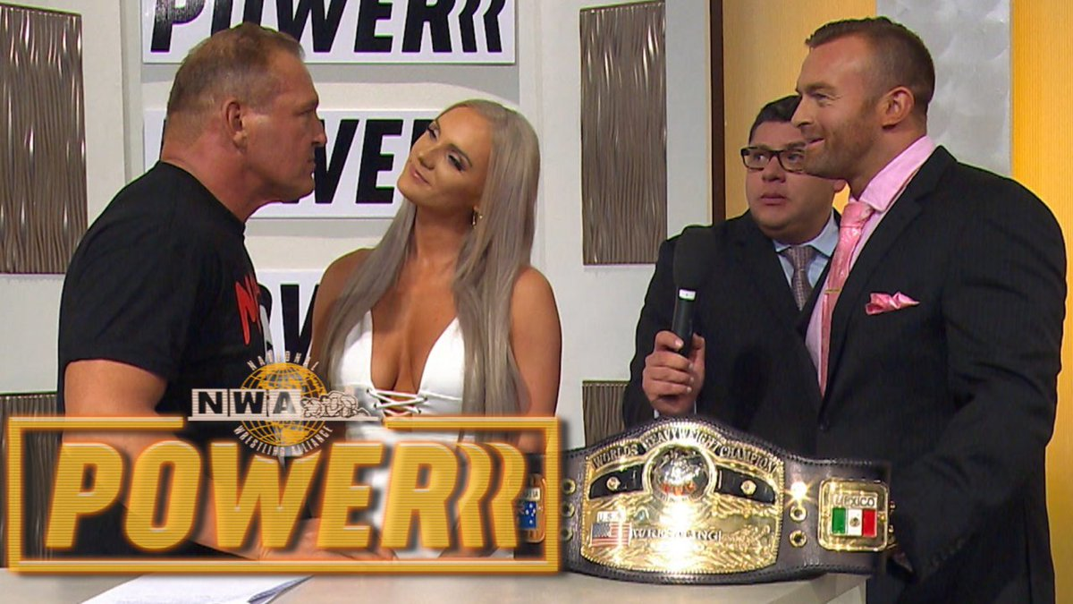NWA Powerrr To Air On New Year's Day This Week