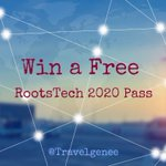 Image for the Tweet beginning: Closing soon....Win a Free RootsTech