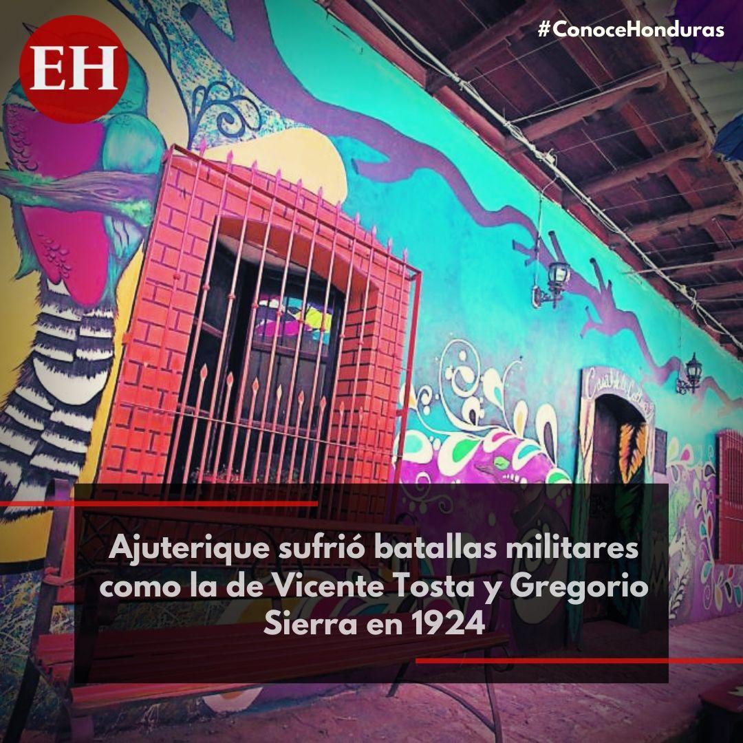 #ConoceHonduras A casi 11 kilómetros de Comayagua se encuentra este colorido pueblo que expone a sus visitantes admirables murales