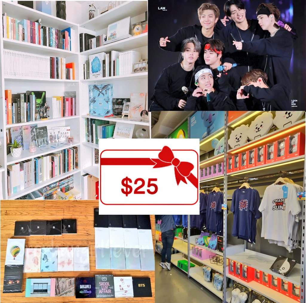DAY 9 OF 12 DAYS OF GIVEAWAYS ❄️ anything (I mean anything!) under $25  must include the cost of shipping & can be whatever you'd like (bts, bt21, Kpop, etc)  to enter: -follow me(@rephangirl4ever) & @ot7_tamale  -retweet  tag friends for extra retweets!  ends: 1/7