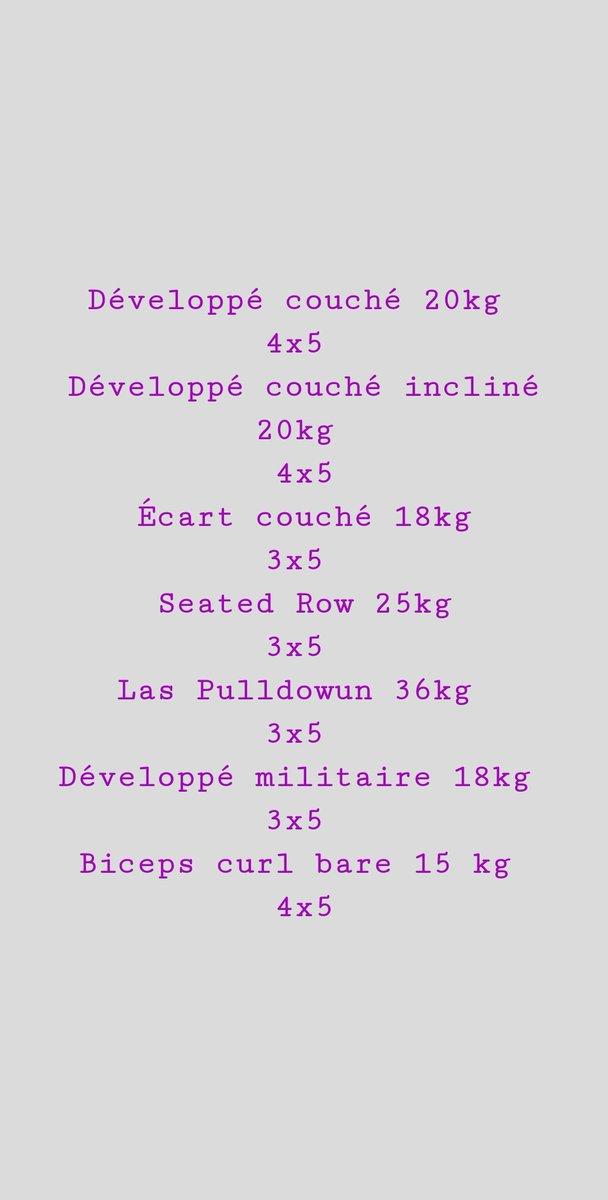 2 eme training de la semaine avec le haut du corps #gaysexy #fitgay #gayhot #fitness #fitboy #fit #fitfrench #gayfitness #gayfrance #LGBT #bodybuilding #prisedemasse #weightlifting  #teamfitcats #bicepsworkout #teamshape #anorexique #shoulderworkout #tricepsworkout #nouvelanpic.twitter.com/IRyrOp6XZR
