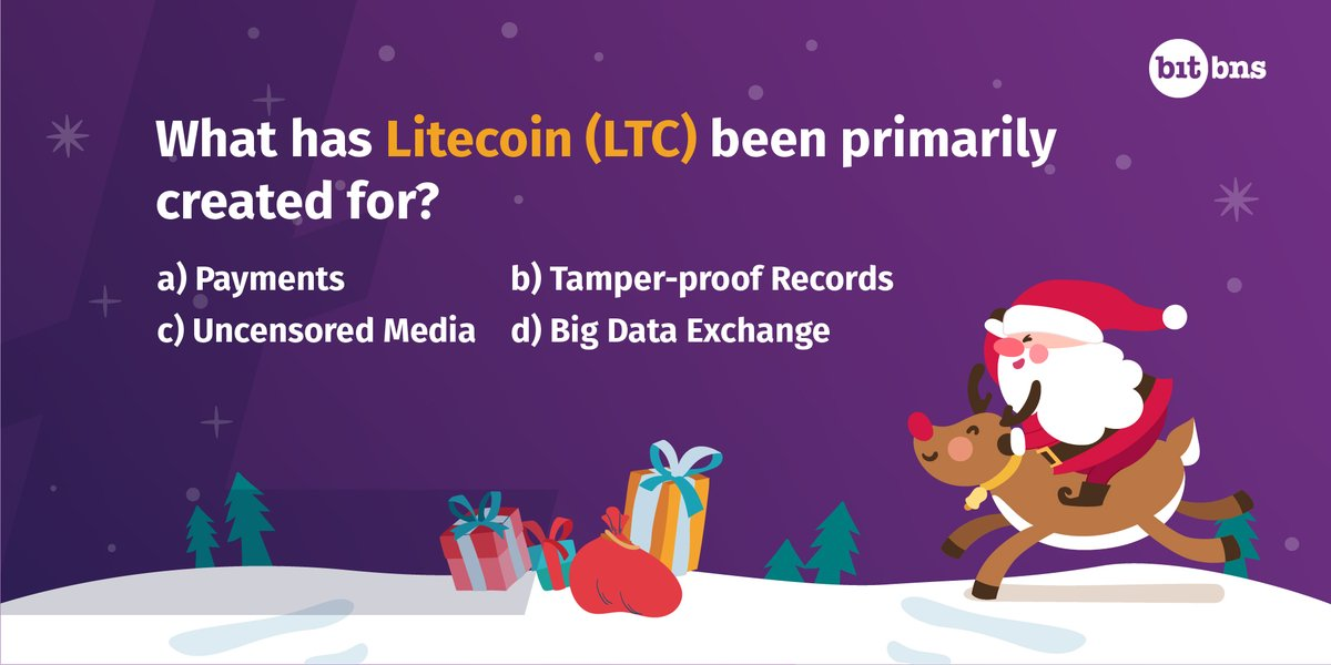 Answer a simple question about @litecoin  and stand a chance to #win a surprise #LTC #reward, this festive season. Leave your answer in the comments below.   #12AltCoinsChristmas #contest #Cryptocurrencygiveaway