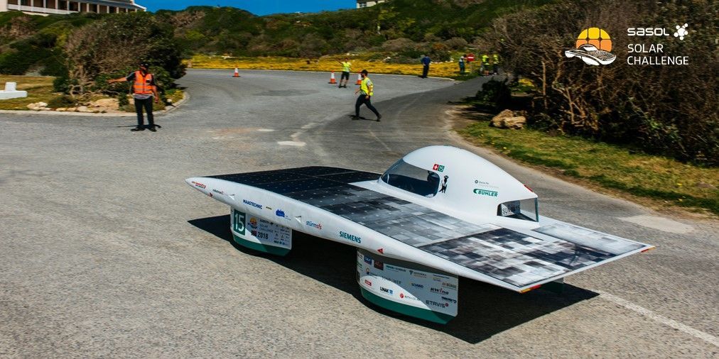 Twitter photo by SasolSolarChallenge